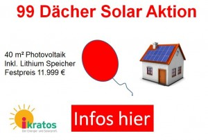 99 Daecher Solar Aktion