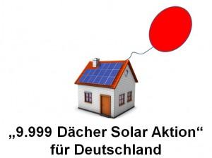 9999 Dächer Solar Aktion