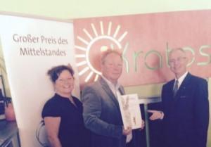 iKratos erhält Jurystufe Grosser Preis des Mittelstandes