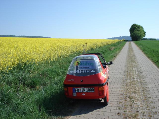 iKratos e-Mobil unterwegs
