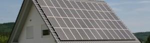 Solar erzeugt Strom