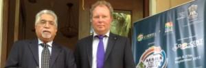 Dr Khanna und Willi Harhammer