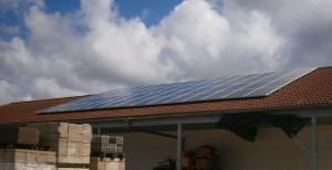 Netter Bauart Photovoltaik