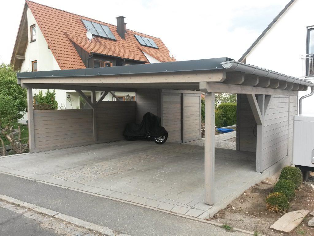 Solar Carport direkt vom Schreiner