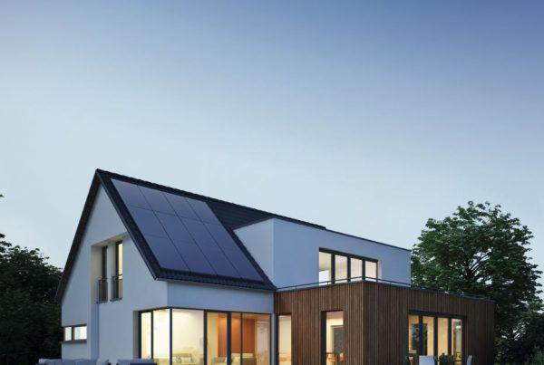 Solar auf Norddach