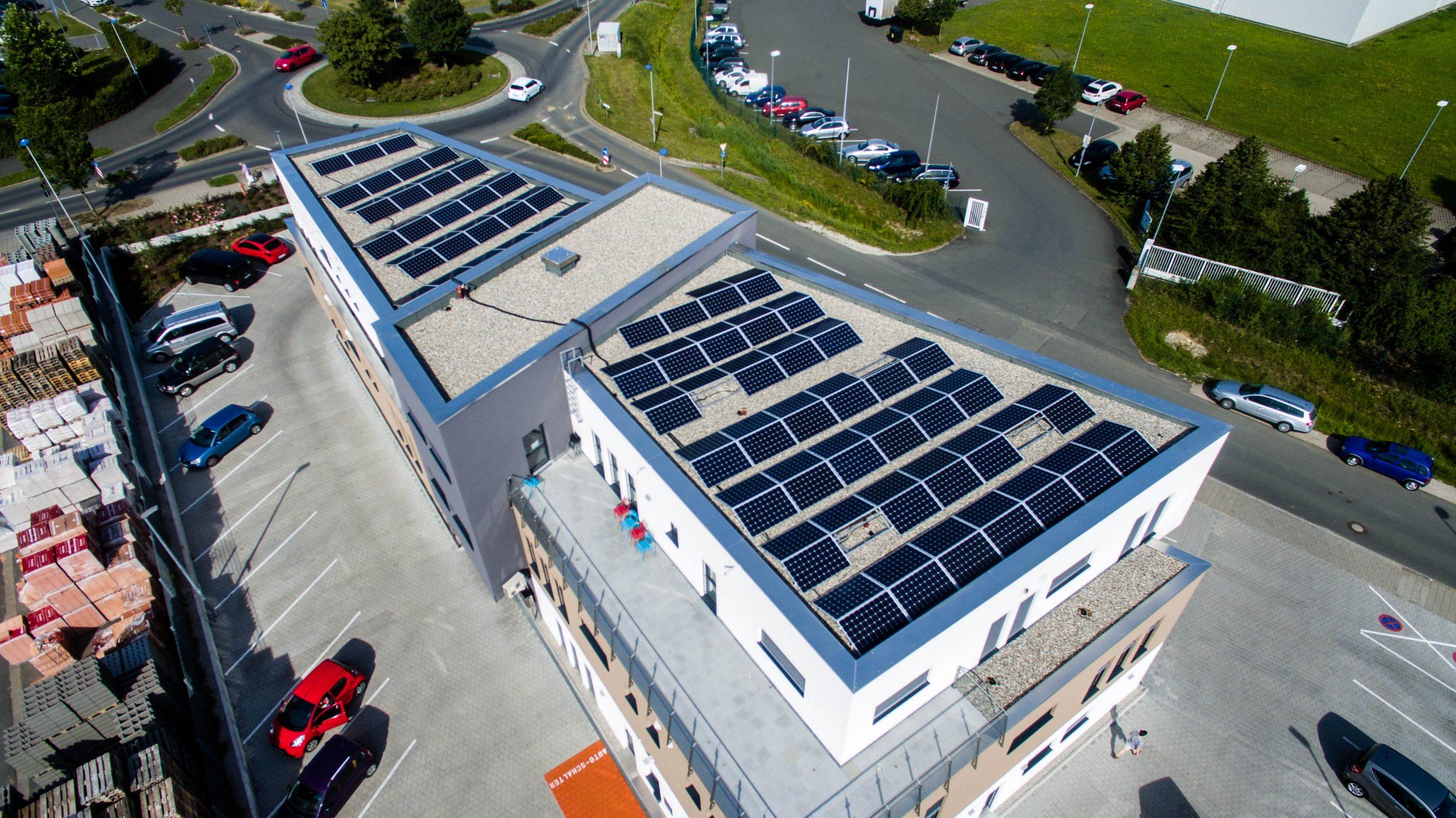 Solaranlage – Energie für Gewerbe und Industrie