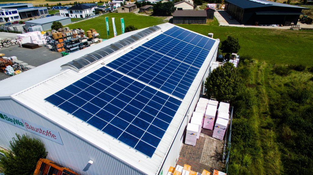 Photovoltaik für Gewerbe und Industrie