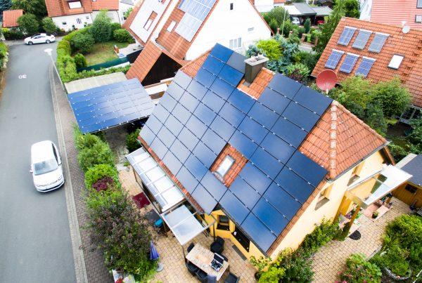 Solar trägt zum Ökostrom bei