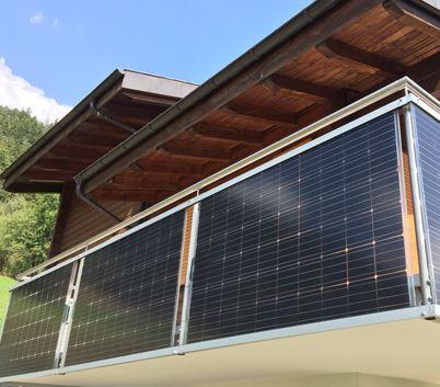 Die kleine Kompakt-Solaranlage