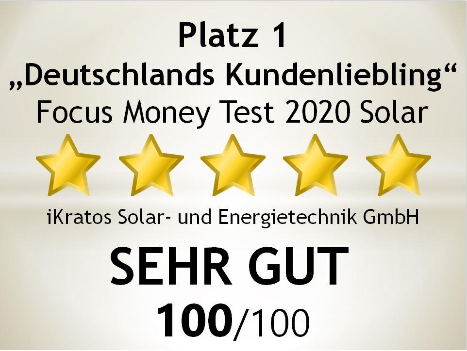 Deutschlandtest 2020 - mehrfache Auszeichnung für iKratos