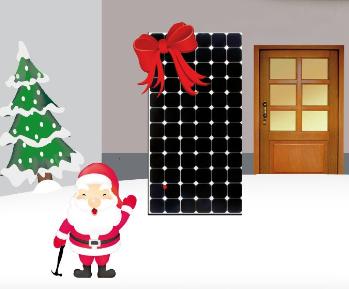 iKratos BalkonSolar Weihnachtsaktion
