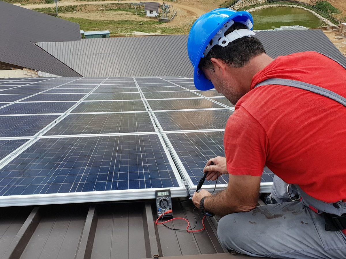 Wartung planen für Solar Photovoltaik