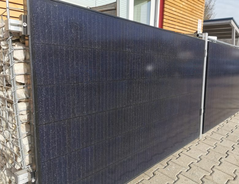 Saharastaub auf Photovoltaikmodulen