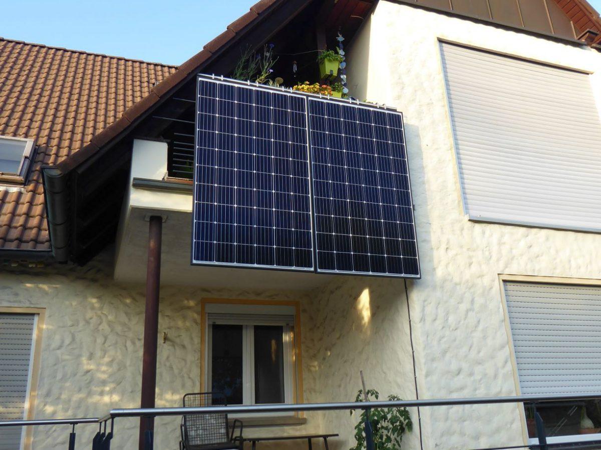 BalkonSolar – Solar für Jedermann
