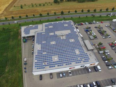 Photovoltaik für Industrie