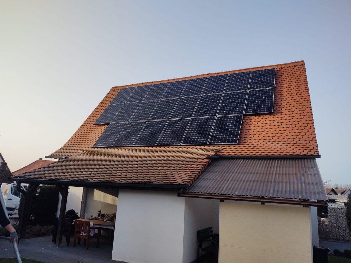 Entscheidung pro Photovoltaikanlage