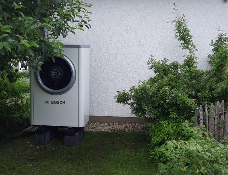 Warum eine Bosch Wärmepumpe?