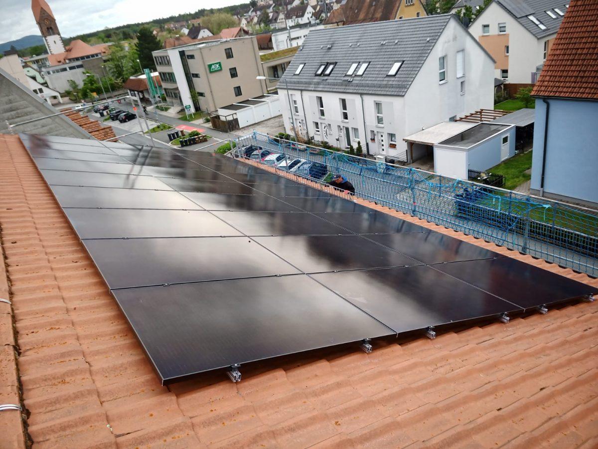 Staatliches Bauamt Nürnberg baut auf Photovoltaik