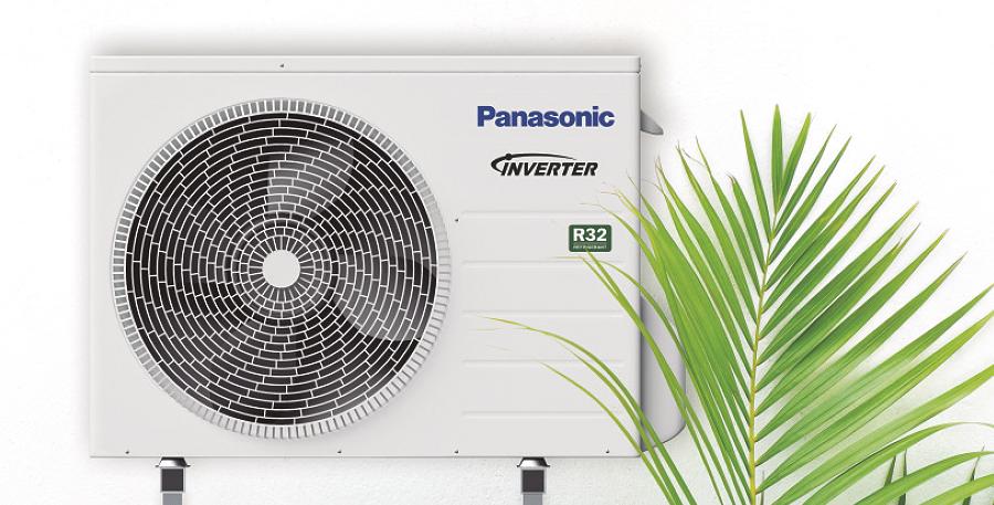 Neue Generation der Panasonic AQUAREA Luft/Wasser-Wärmepumpe