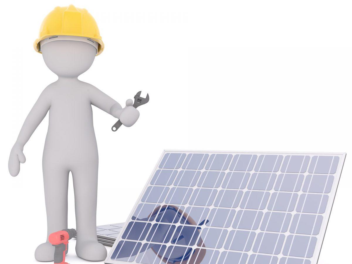 Prüfung und Reparatur Solaranlage nach Gewitter