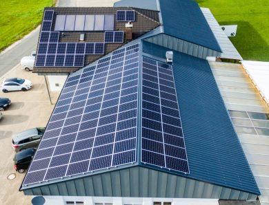 Photovoltaikanlage fürs Sportheim