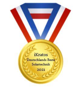 Deutschlands Beste Solartechnik 2021 – iKratos